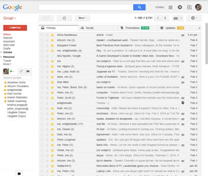 Gmail бесплатная электронная почта