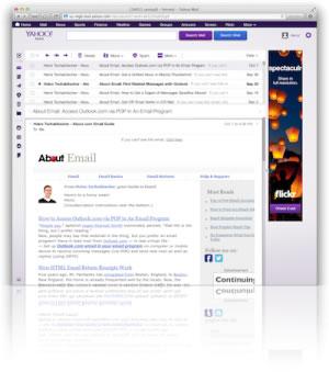yahoo mail бесплатная электронная почта