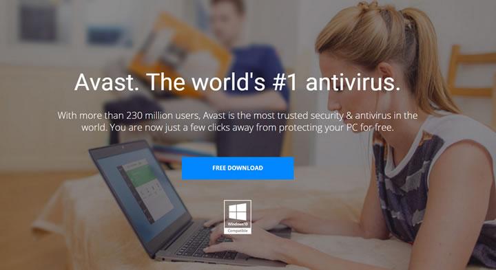 Антивирус Avast free Antivirus
