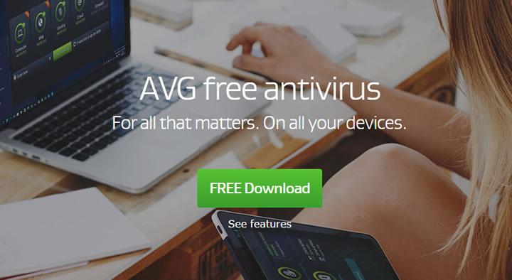 Антивирус AVG Antivirus Free