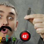"""Купить Хромкаст """"Chromecast""""? Обзор и тест. Комедийная распаковка"""